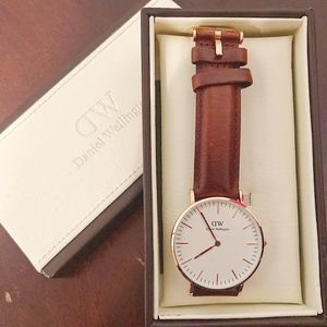 Daniel Wellington St. Andrews 36mm watch with box
